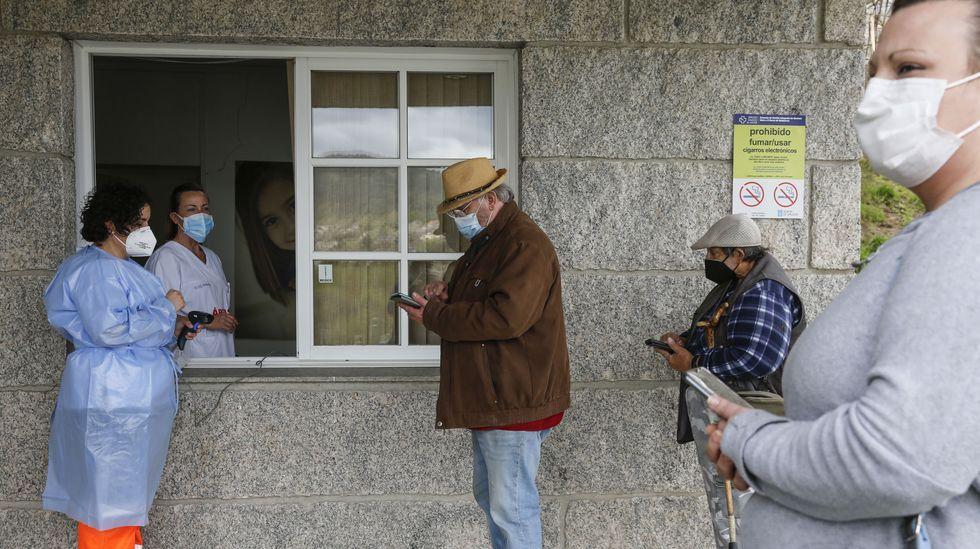 125 vecinos de Beade acudieron al cribado masivo en el centro de salud