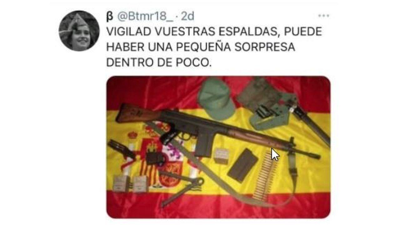 Captura del tuit denunciado por Podemos