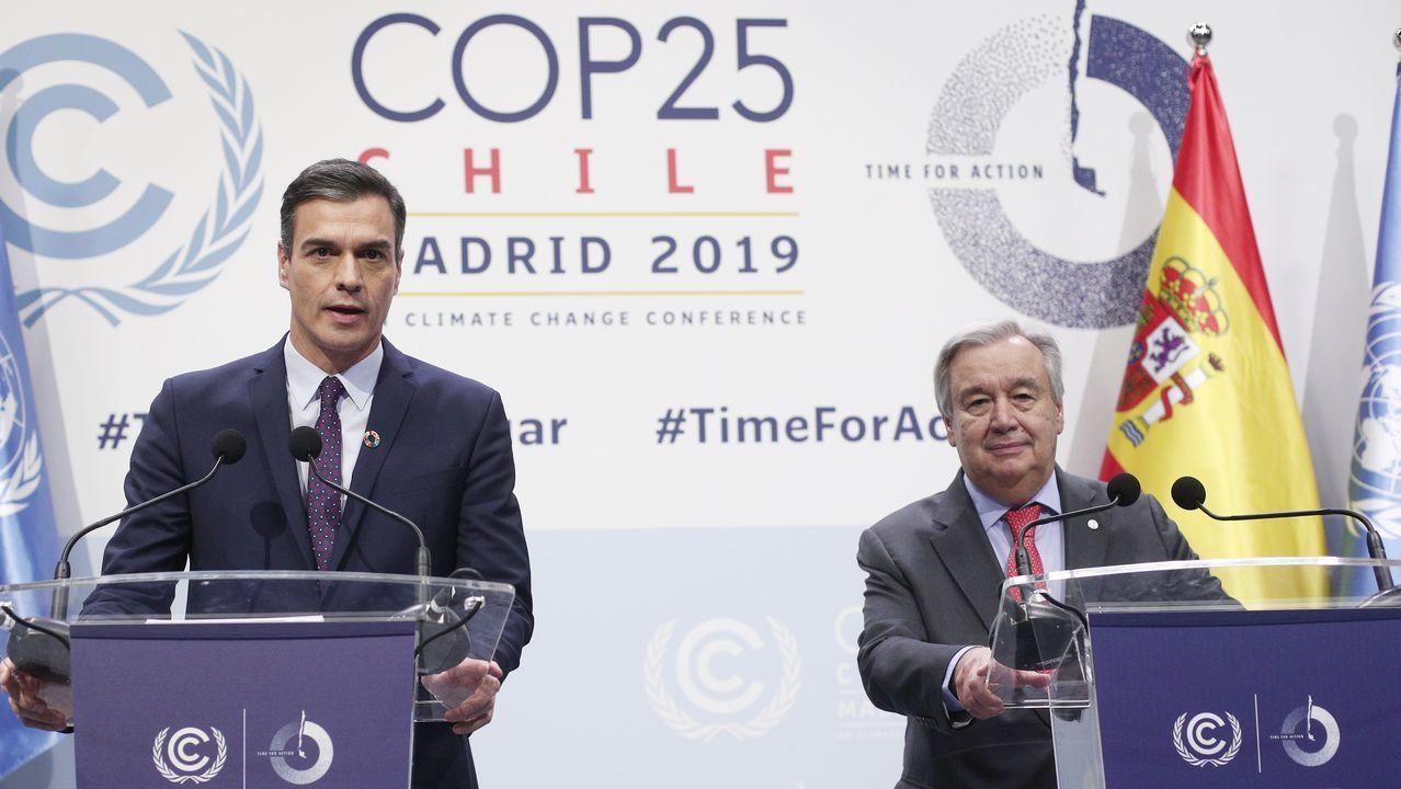 En directo: Comparecen Pedro Sánchez y AntónioGuterres, secretario general de la ONU.La gestión sostenible de los recursos obtenidos del suelo está ligada a su importancia como factor de crecimiento económico y de seguridad alimentaria