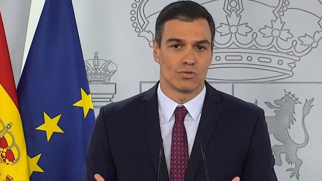 En directo, Pedro Sánchez: «El virus puede volver y tenemos que ...