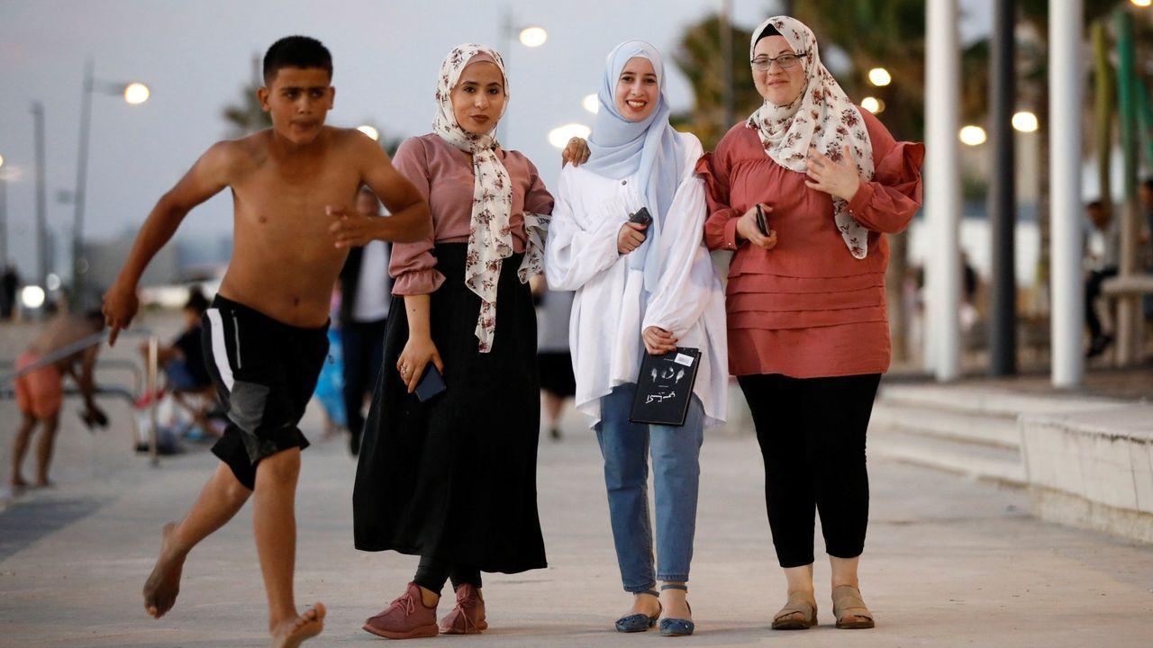 Las imágenes de la pandemia en el mundo.Sede del Ministerio de Recursos Hídricos egipcio