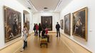 Interior del Museo de Bellas Artes