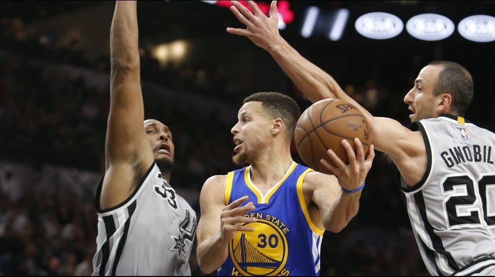 Los Spurs frenan a los Warriors