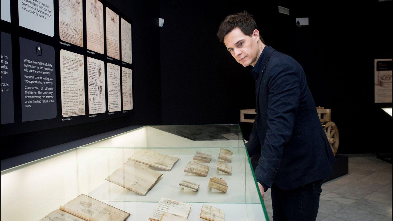 Museo Arqueológico.El escritor y cineasta francés Éric Vuillard, premio Goncourt en el 2017 por su novela «El orden del día»