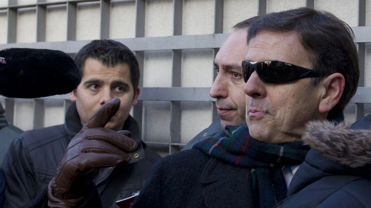 Eufemiano Fuentes, durante el juicio por la operación Puerto