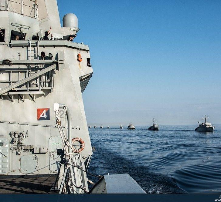 Un momento del ejercicio Passex en el Golfo de Finlandia.