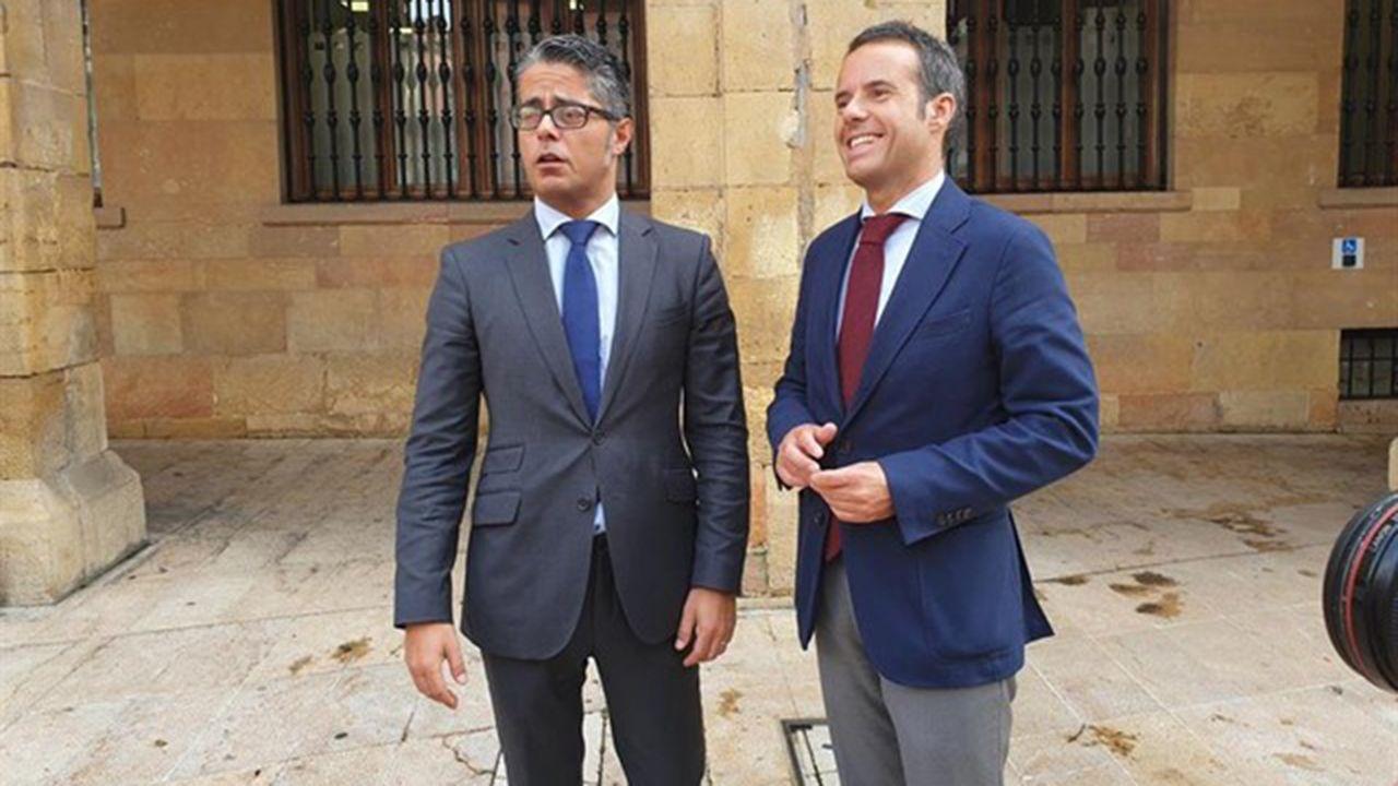 Javier Cuesta y Gerardo Antuña