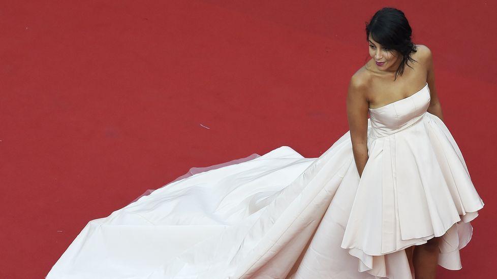 La actriz francesa Leila Bekhti