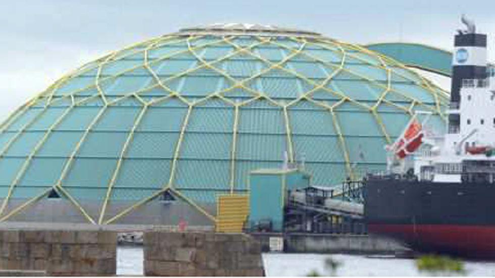 La «Medusa» del puerto de A Coruña