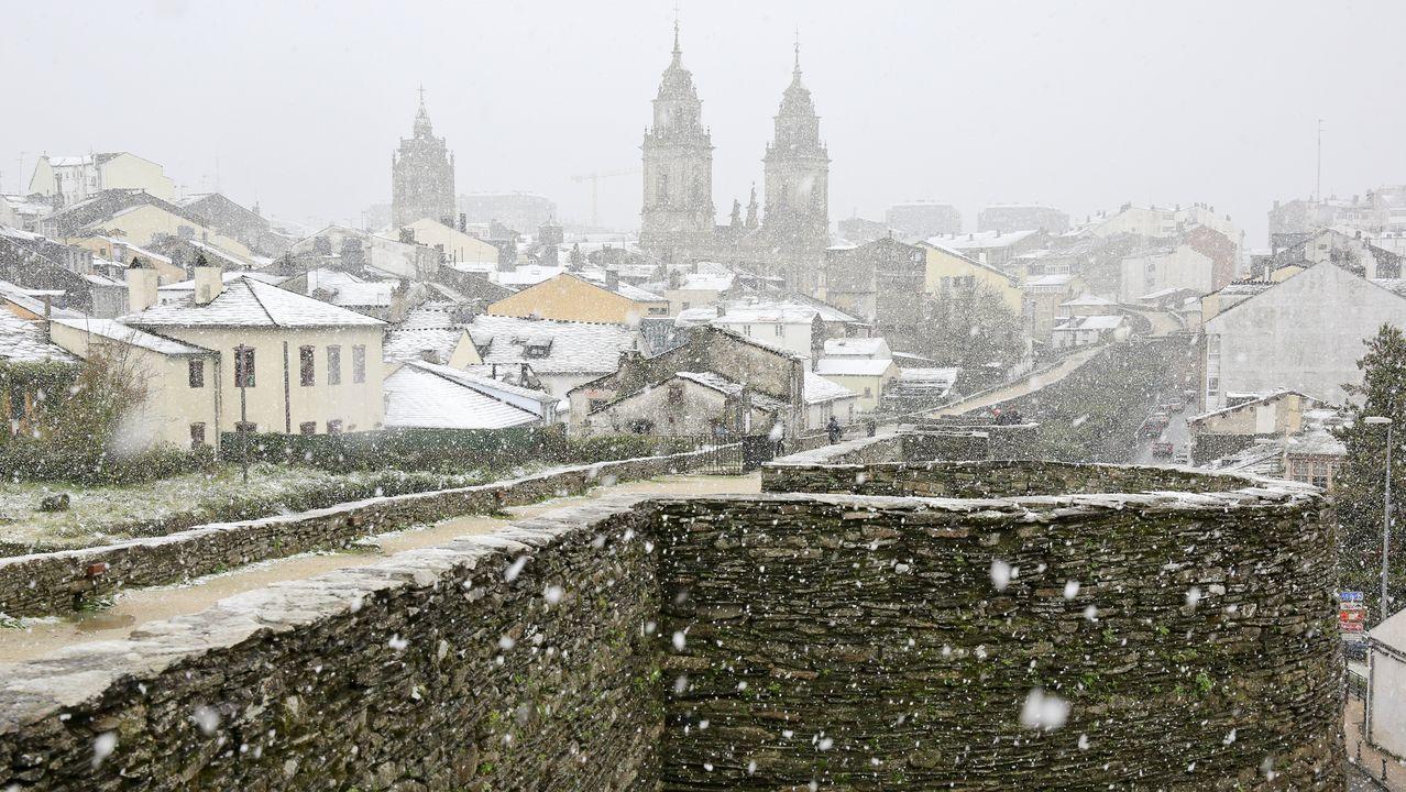 A Muralla romana de Lugo