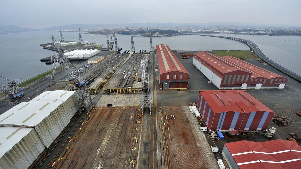 El astillero de Fene iniciará en breve la construcción de los jackets de Iberdrola