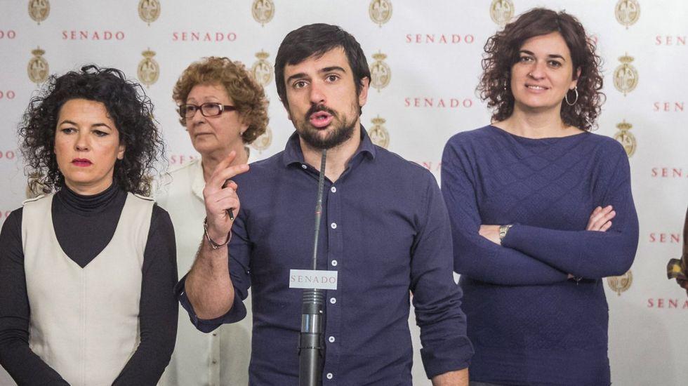Espinar ganó 19.000 euros tras vender una vivienda protegida en la que no llegó a vivir.Ramón Espinar, en una imagen de archivo