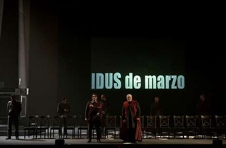 «Julio César», de Metaproducciones, será uno de los estrenos de la Mostra de Ribadavia de este año.