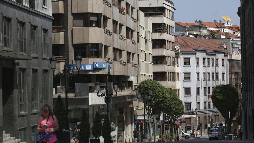 Edificios en Oviedo