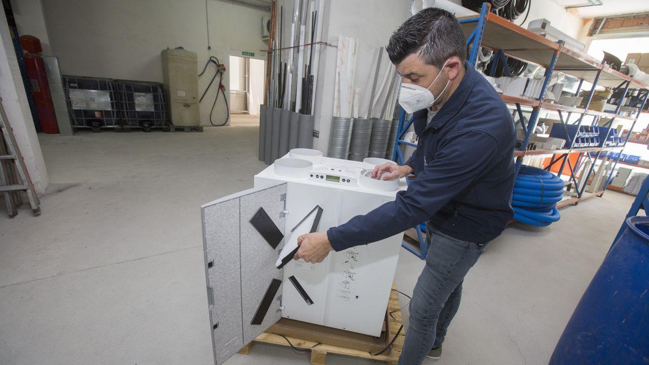 Sistema de ventilación para evitar el gas