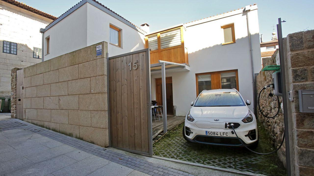 Ejemplo de dos viviendas rehabilitada en la zona vieja de Pontevedra