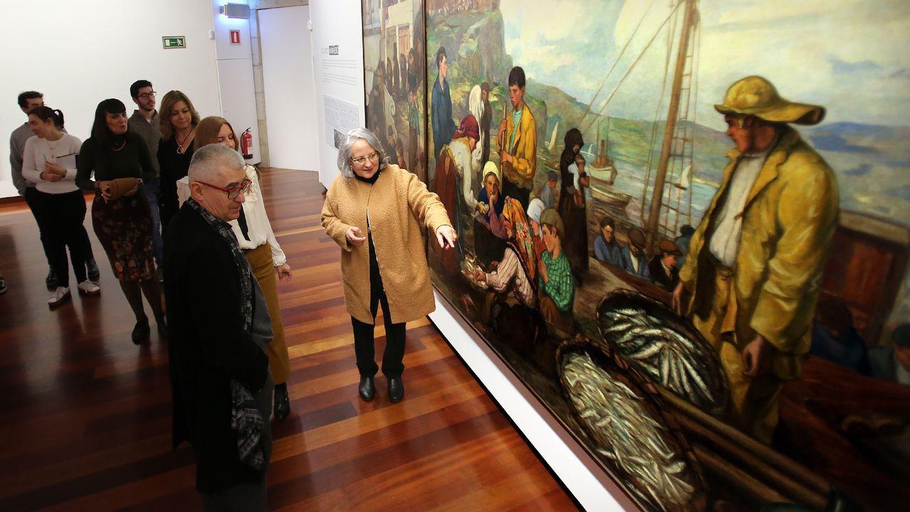 Latexos repasa el arte gallego desde finales del XIX.Talleres de artesanía para niños en el Centrad, en el 2011