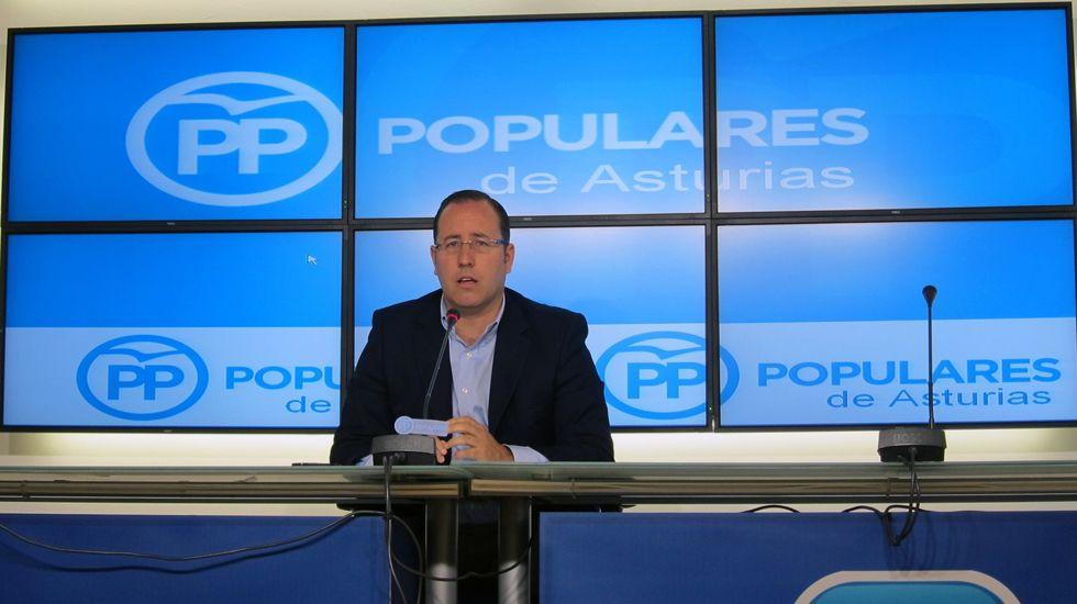 El senador del PP por Asturias Mario Arias.Mario Arias