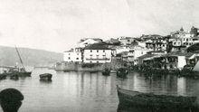 O Berbés (Vigo) hacia 1890. Imagen procedente del libro 'Vigo. Setenta años para crear una ciudad', de Salvador Fernández de la Cigoña
