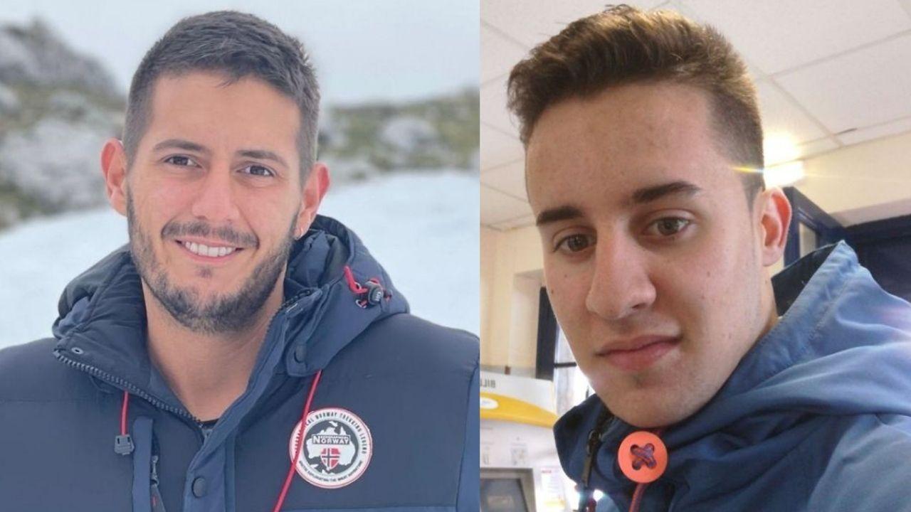 Marcos Serén y Avelino Díaz, dos de los jóvenes asturianos que se sumaron al cribado