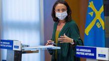 La consejera de Derechos Sociales y Bienestar, Melania Álvarez