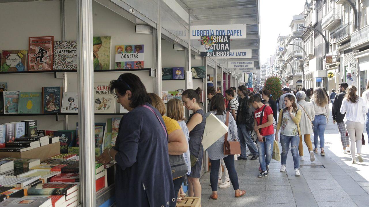 Protesta, en el 2018, contra el traslado de la pediatría de Coruxo a Navia
