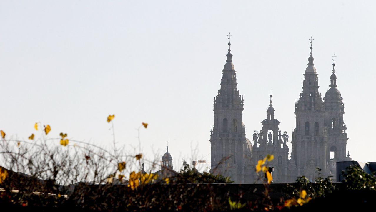 La ofrenda al apóstol Santiago, en imágenes.Compostela é, sempre, parada obrigada