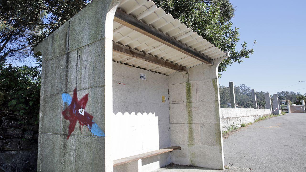 Marquesina de piedra en Vilanova