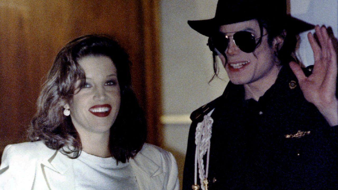 Jackson y Lisa Marie Presley se casaron en 1994
