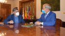 El alcalde de Cervantes y el presidente de la Diputación firmaron el acuerdo