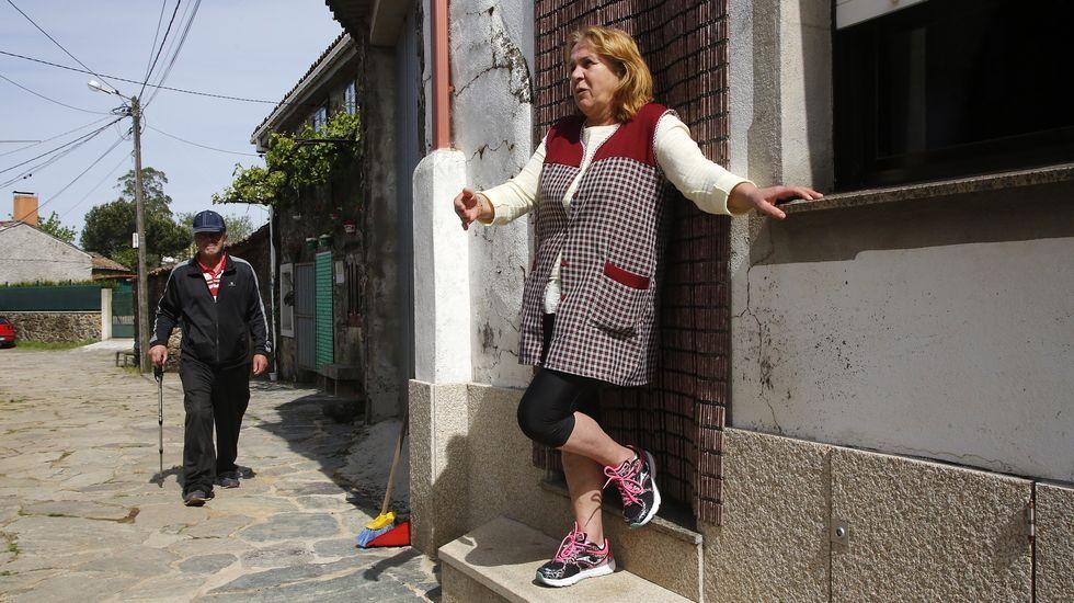 Celia y Manolo confiesan que echan de menos el bullicio y la  alegría que provocan los peregrinos