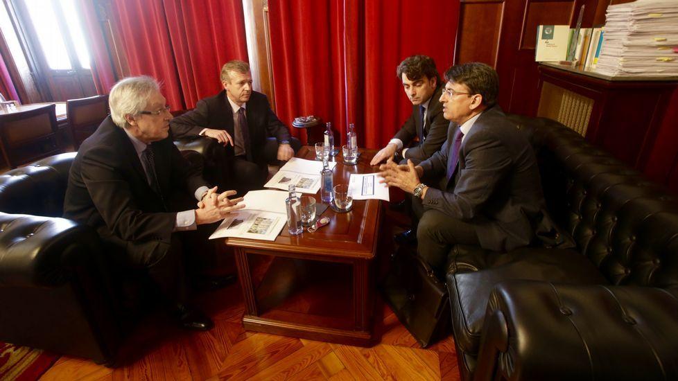 El proyecto municipal para elantiguo convento y Tabacalera.Alfonso Rueda, presentará ao presidente do TSXG, Miguel Ángel Cadenas, o Plan de eficiencia enerxética nos edificios xudiciais