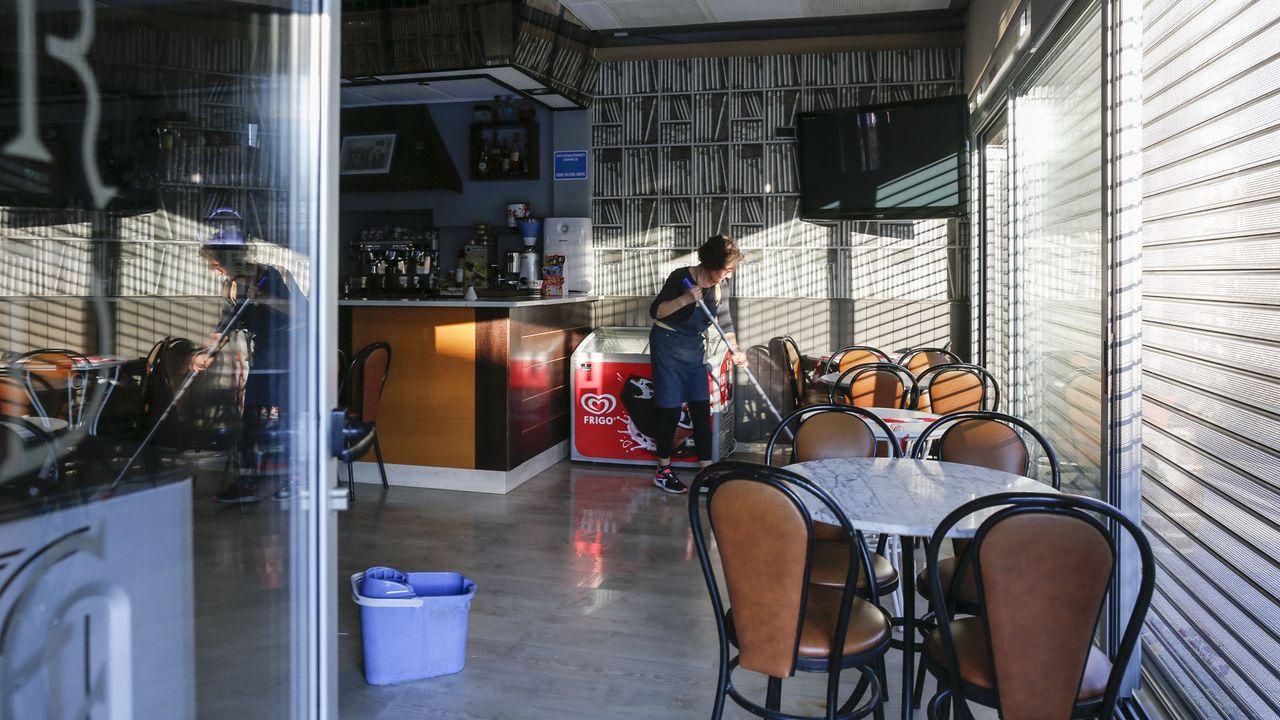 En el bar Bardelás A Casiña han tenido que cancelar reservas cerradas para el fin de semana