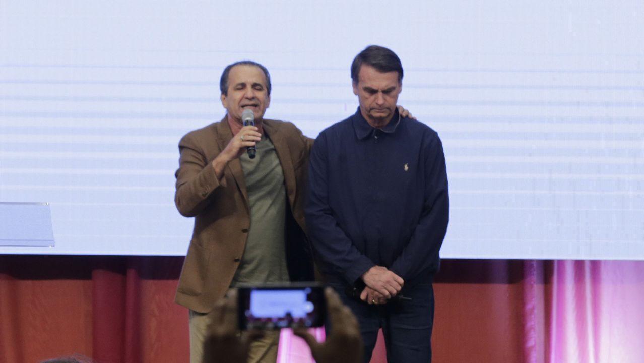 Bolsonaro y el pastor evangélico Silas Malafaia