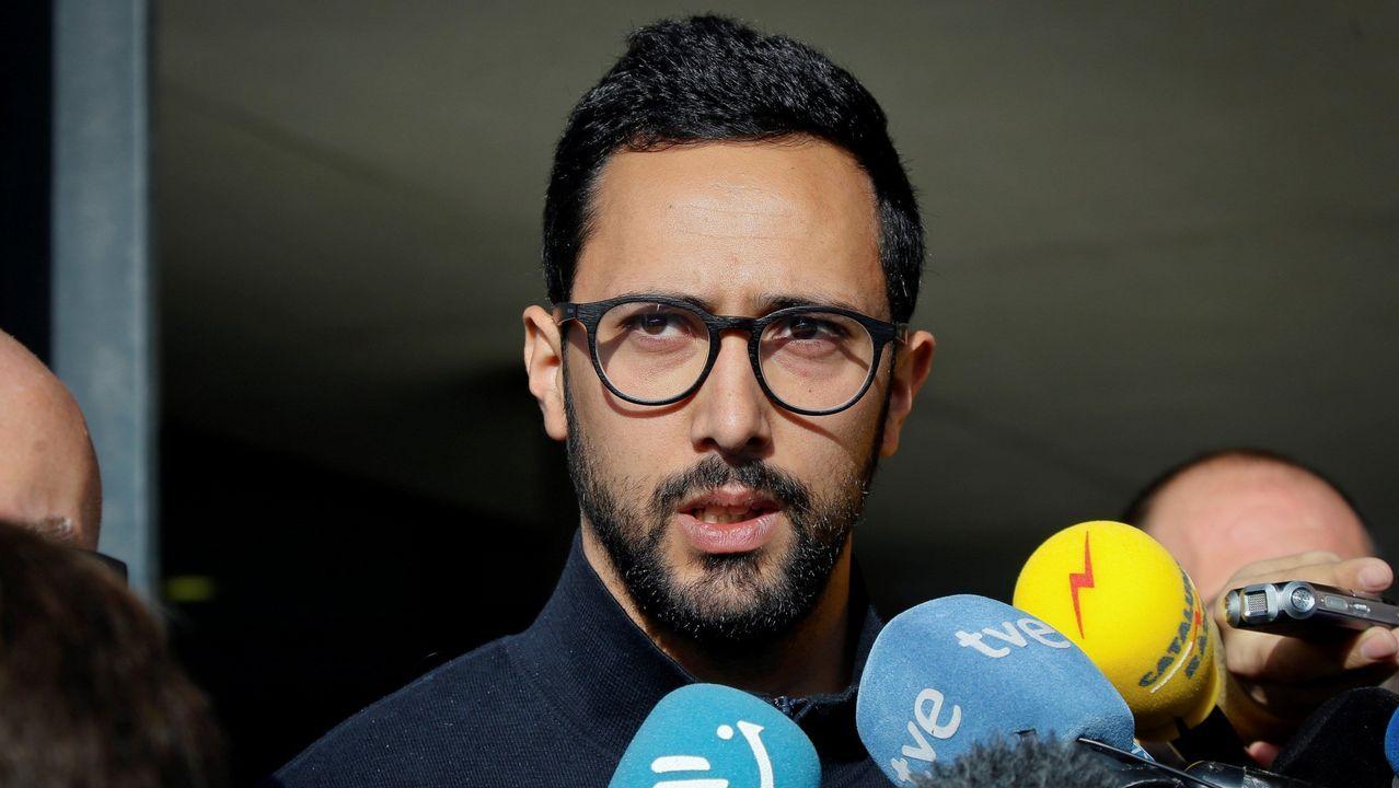 Son de Arousa: el vídeo de la descarga simulada de fardos de café que puede costarle a su protagonista 50.000 euros. El rapero Josep Miquel Arenas, conocido como Valtònyc