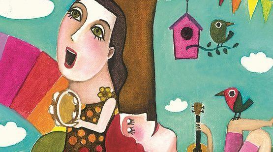 Susa Herrera compone y canta en este libro disco.