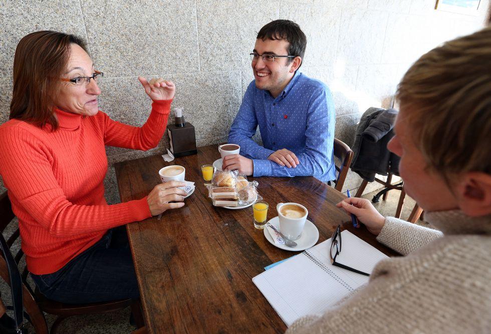 Rosana Pérez e Carlos Callón falan da formación da candidatura e das súas expectativas<span lang= es-es >. </span>