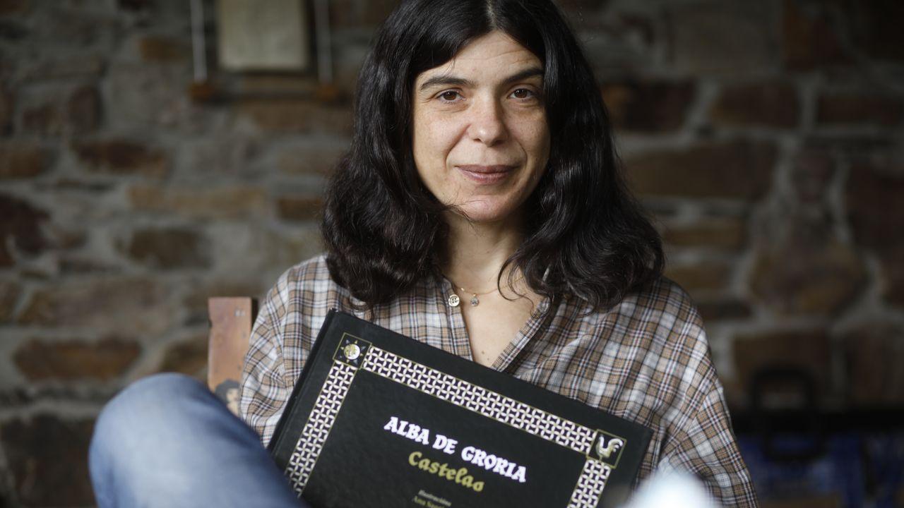 Ana Santiso naceu en Touro, viviu en Sober e dende hai dous anos reside en Vilar de Cancelada
