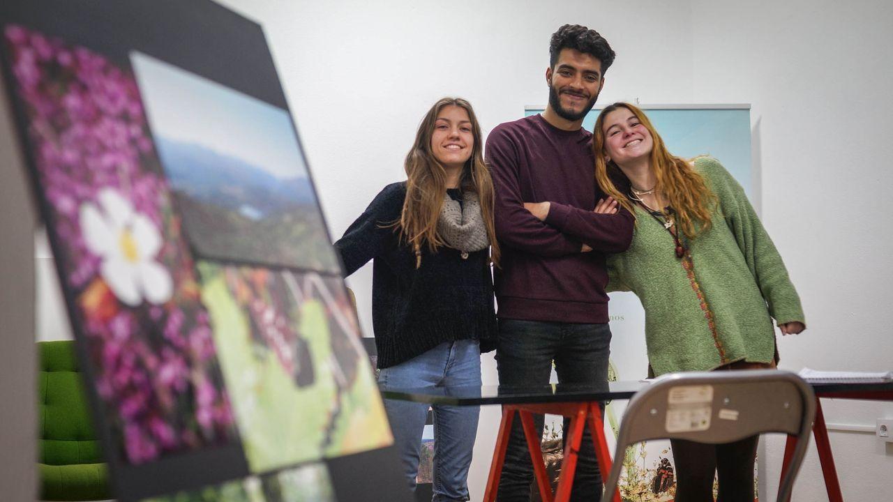 La conselleira de Educación, Carmen Pomar, visitó el IES Monelos de A Coruña