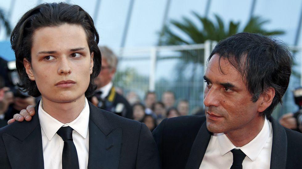El director Samuel Benchetrit y su hijo, el actor Jules Benchetrit