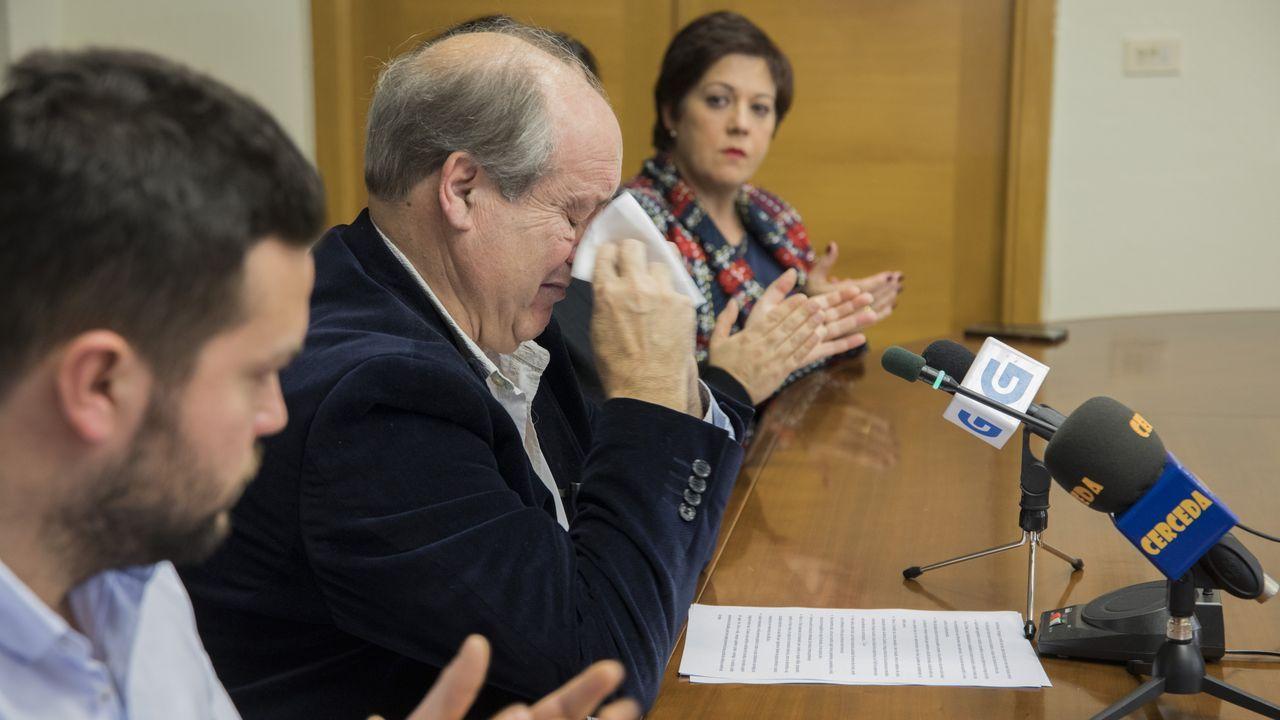 Emocionado adiós del alcalde de Cerceda