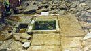 El abandono de la fuente romana de Corvazal, en Lugo