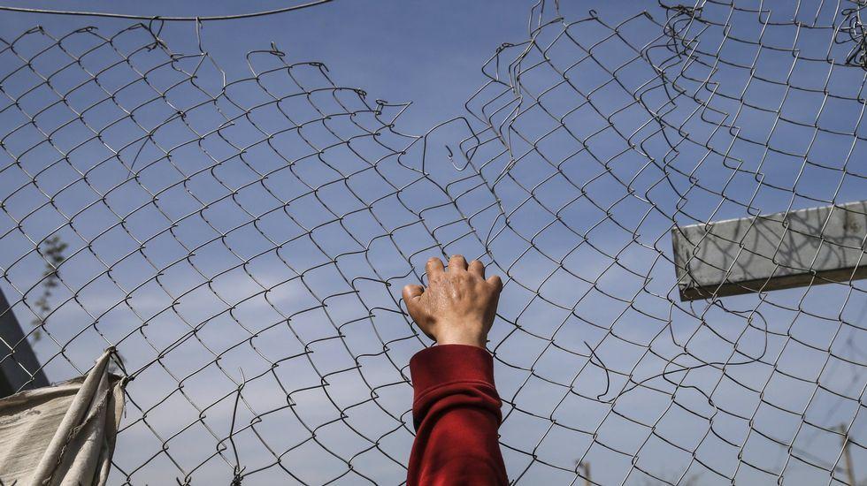 Imagen de la entrada del Centro Galego de Montreal que figura en la petición de Change.org