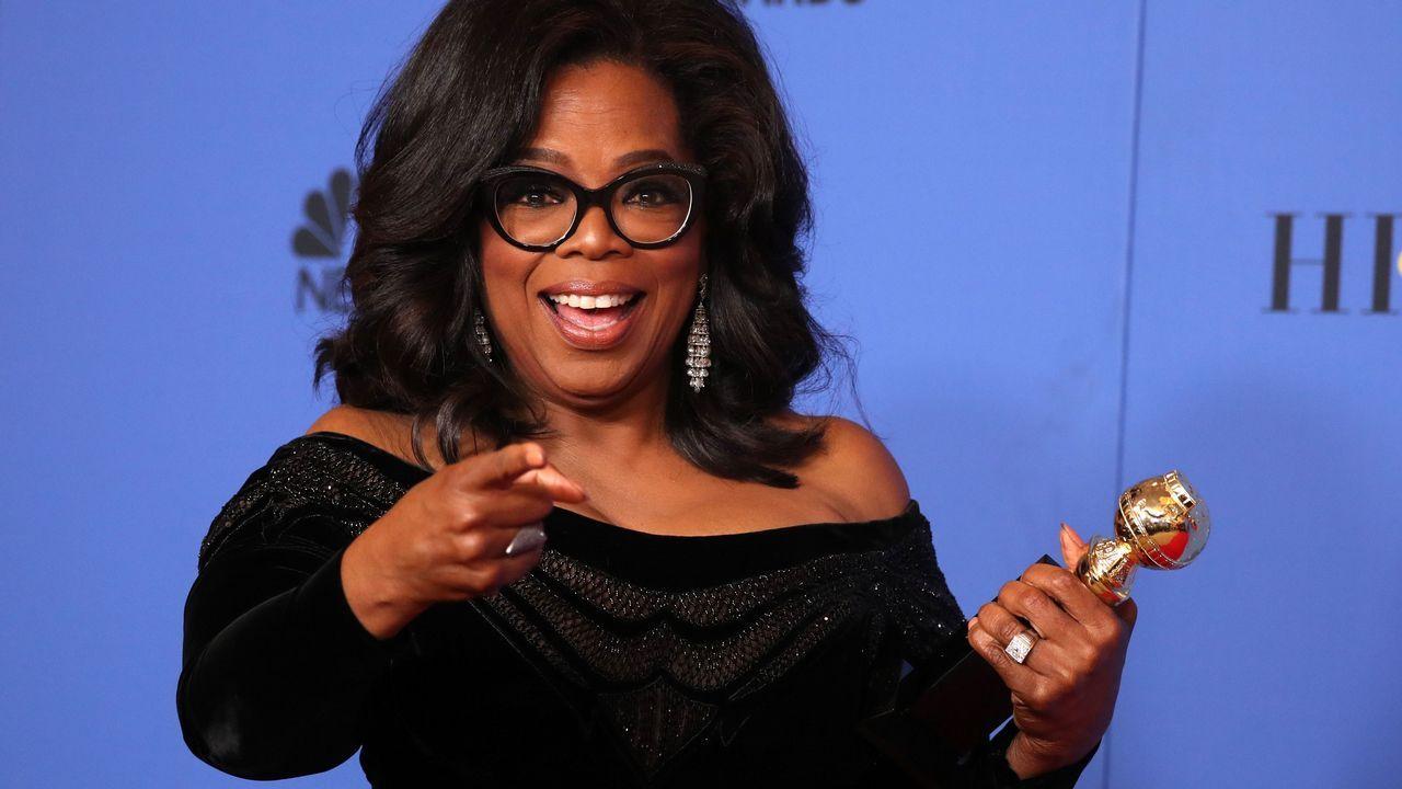 Premio Cecil B. DeMille a Oprah Winfrey.