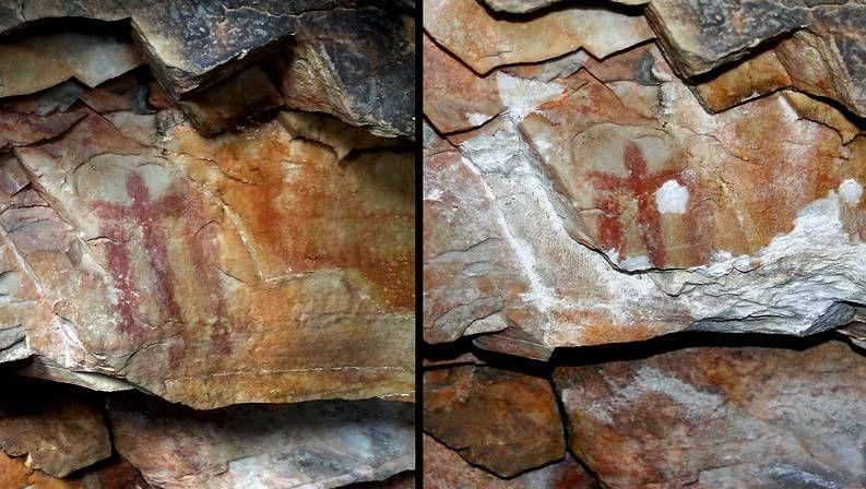Antes y después de la pintura rupestre