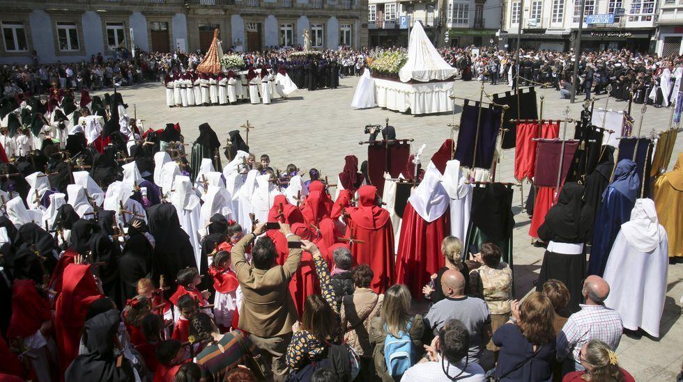 Escena de la Semana Santa ferrolana, declarada de Interés Turístico Internacional desde 2014