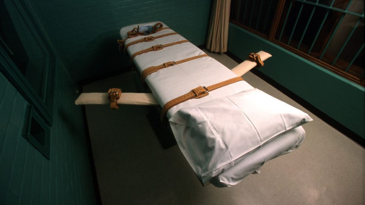 Habitación donde se llevó a cabo la ejecución por inyección letal en Misuri