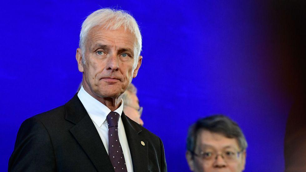 Volkswagen T-Roc.Matthias Mueller, consejero delegado del grupo Volkswagen