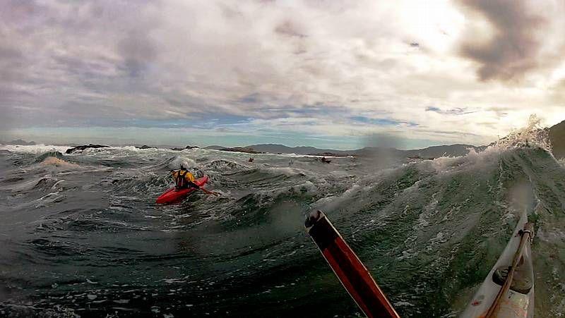 El kayak oceánico extremo también se practica en Galicia