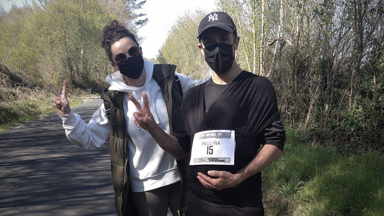 Correr y andar eran las opciones de los participantes en la prueba